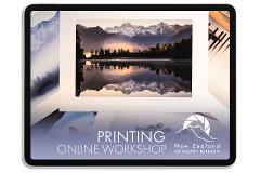 Online Fine-Art Printing Workshop