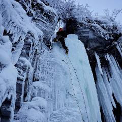 Winter - Ice climbing