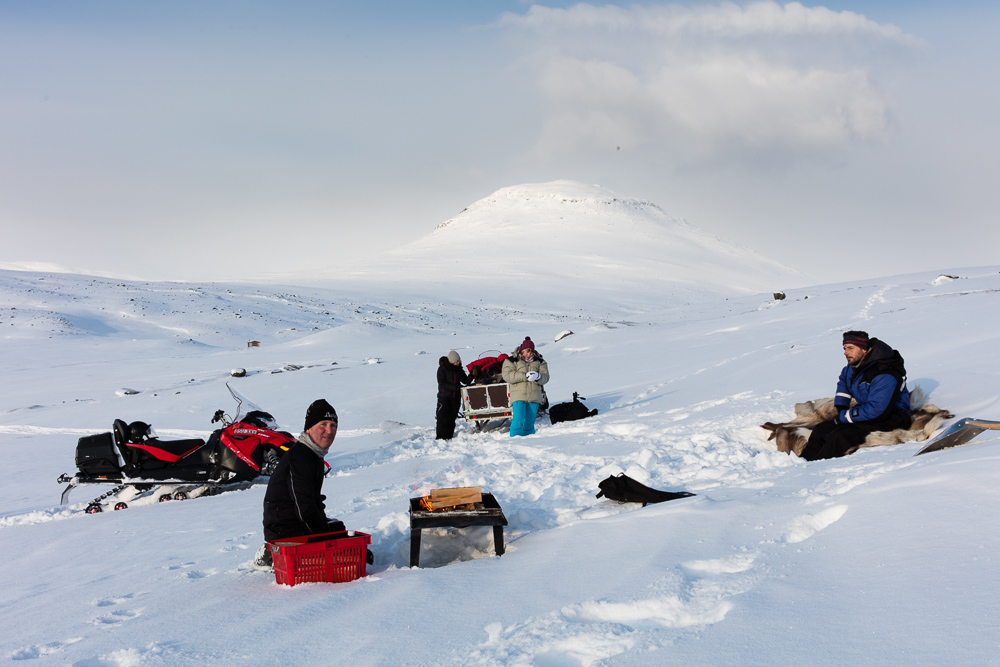 Snowmobile Sled Tour (afternoon)