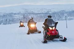 Snowmobile Trip (morning)