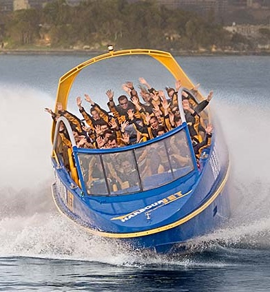 Deal Voucher - Jet Blast Ride - Circular Quay