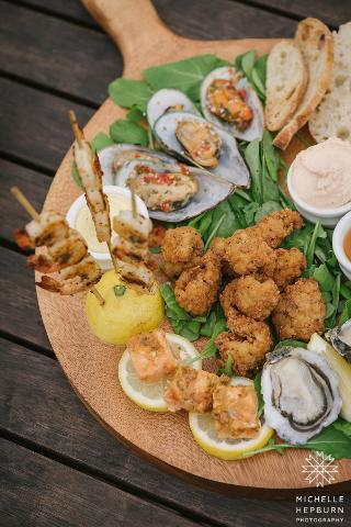Chef's Wild Tasting Platter