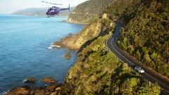 Melbourne along Great Ocean Rd Landing at 12 Apostles Helicopter Return Flights for 4 Passengers
