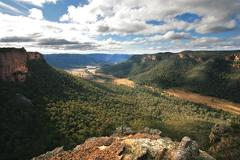 Blue Mountains Return Helicopter Scenic Flight for 4 with Landing, 4wd Adventure and Lunch