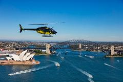 Sydney Harbour and Coastal 20 Min Shared Scenic Helicopter Flight