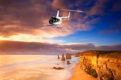 Melbourne along Great Ocean Rd Landing at 12 Apostles Helicopter Return Flights for 2-3 Passengers