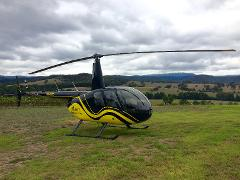 Yarra Valley Helicopter Return Transfers to De Bortoli Winery and Locale Restaurant Lunch for 2