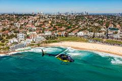 Sydney Harbour Coastal, Coogee, Bondi, Manly Beach 30 Min Shared Helicopter Scenic Flight for 1