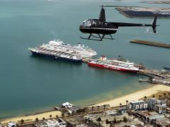 Melbourne City, Williamstown, Port Melbourne, St Kilda to Black Rock Coastal Private 30 Min Helicopter Flight for 3