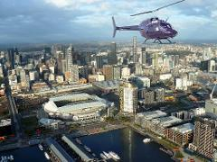 Melbourne City and Coastal 30 Min Private Helicopter Flight for 4
