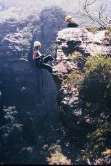 Spectacular Blue Mountains half day abseiling adventure