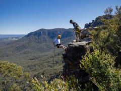 Spectacular Half Day Abseiling Adventure - Blue Mountains