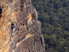 Full day Rock Climbing Adventure - Blue Mountains