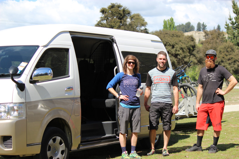 Mountain Bike Shuttle - 9 Seater