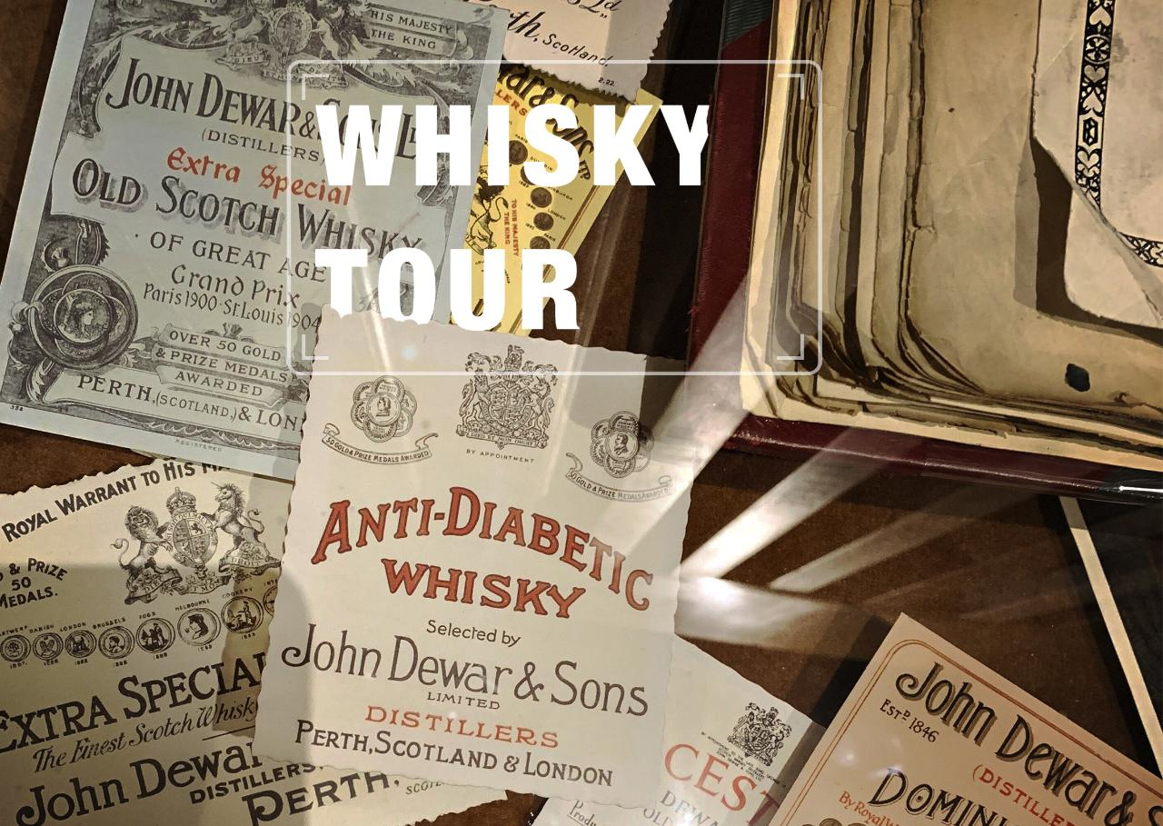 Private Whisky Luxury Day Trip in English