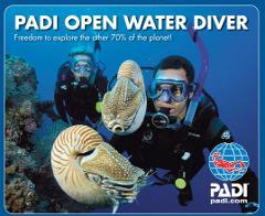 PADI Open Water Course September 2017