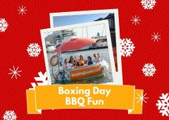 BOXING DAY: 2 Hour BBQ Boat Hire for up to 10 people - Mandurah