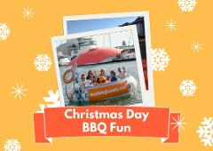 CHRISTMAS DAY: 2 Hour BBQ Boat Hire for up to 10 people - Mandurah