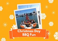 CHRISTMAS DAY: 2 Hour BBQ Boat Hire for up to 6 people - Mandurah
