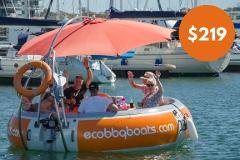 Gift Card - BBQ Boat Hire for Group of 7 - 10 people (weekdays)