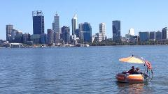 2 Hour Self-Drive BBQ Boat Hire for 2 people - PERTH