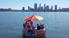 2 Hour Self-Drive BBQ Boat Hire 3 - 6 people - PERTH