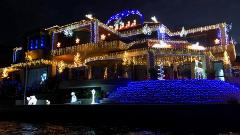 PRIVATE CHRISTMAS LIGHTS CRUISE FOR UP TO 9 PEOPLE PER BOAT