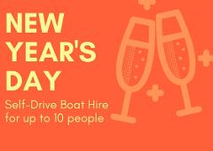 NEW YEAR'S DAY: 2 Hour BBQ Boat Hire for up to 10 people - Mandurah