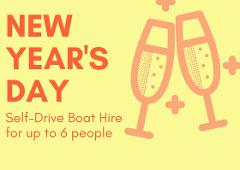 NEW YEAR'S DAY: 2 Hour BBQ Boat Hire for up to 6 people - Mandurah