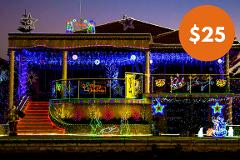 Gift Card for Magical Canal Christmas Lights Cruise in Mandurah - Child