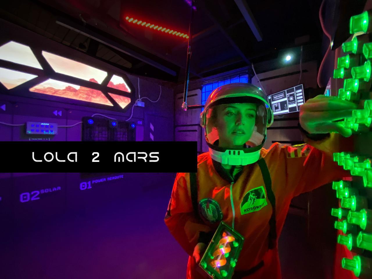 Lola 2 Marsº  Remote Team Escape (in Pacific Time - San Francisco Time Zone)