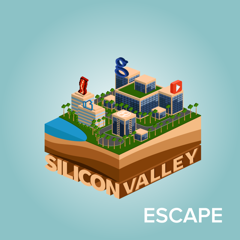 REASON Silicon Valley Escape  (includes 10 player slots)