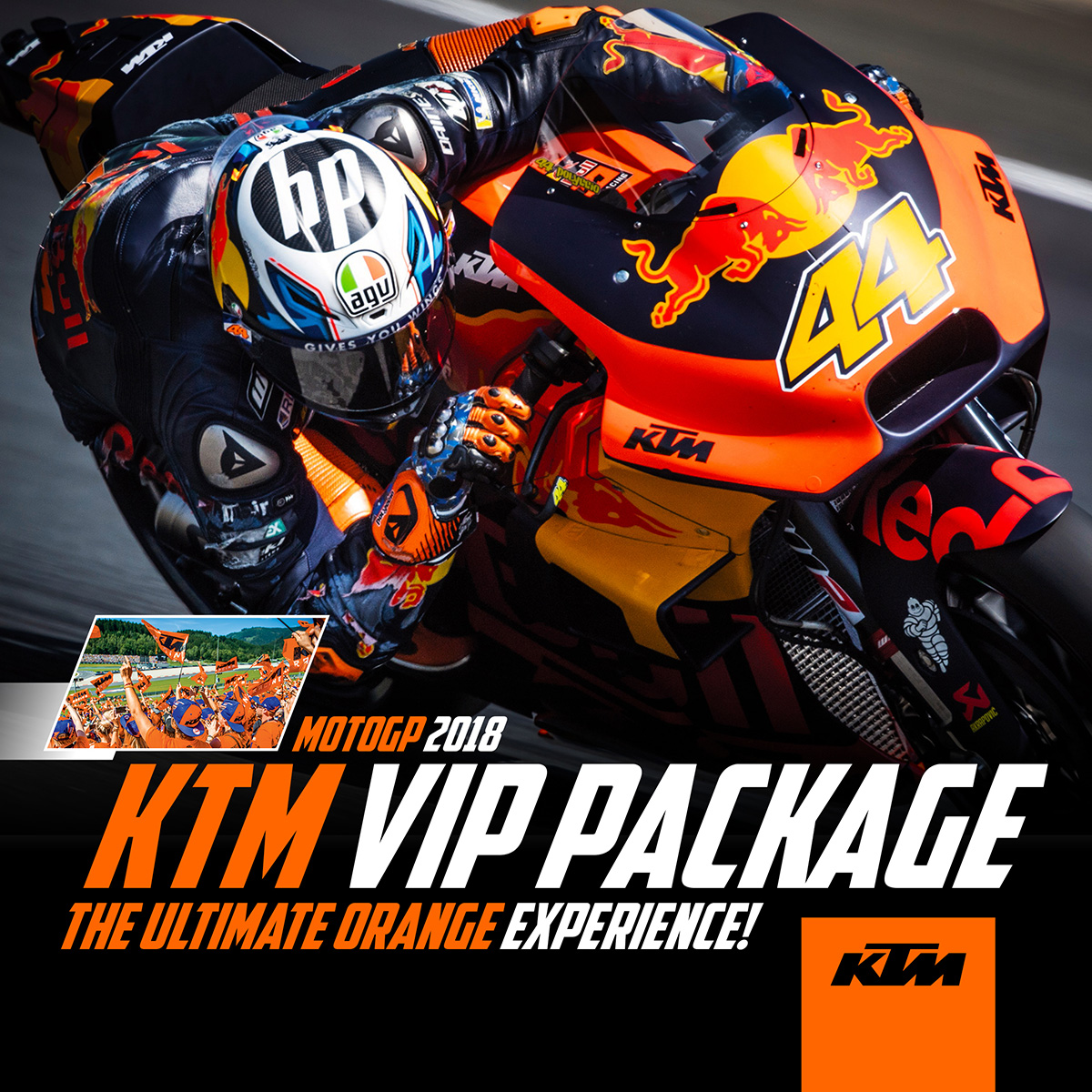 KTM VIP Package: MotoGP 2018