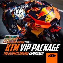 KTM VIP Package: MotoGP 2018