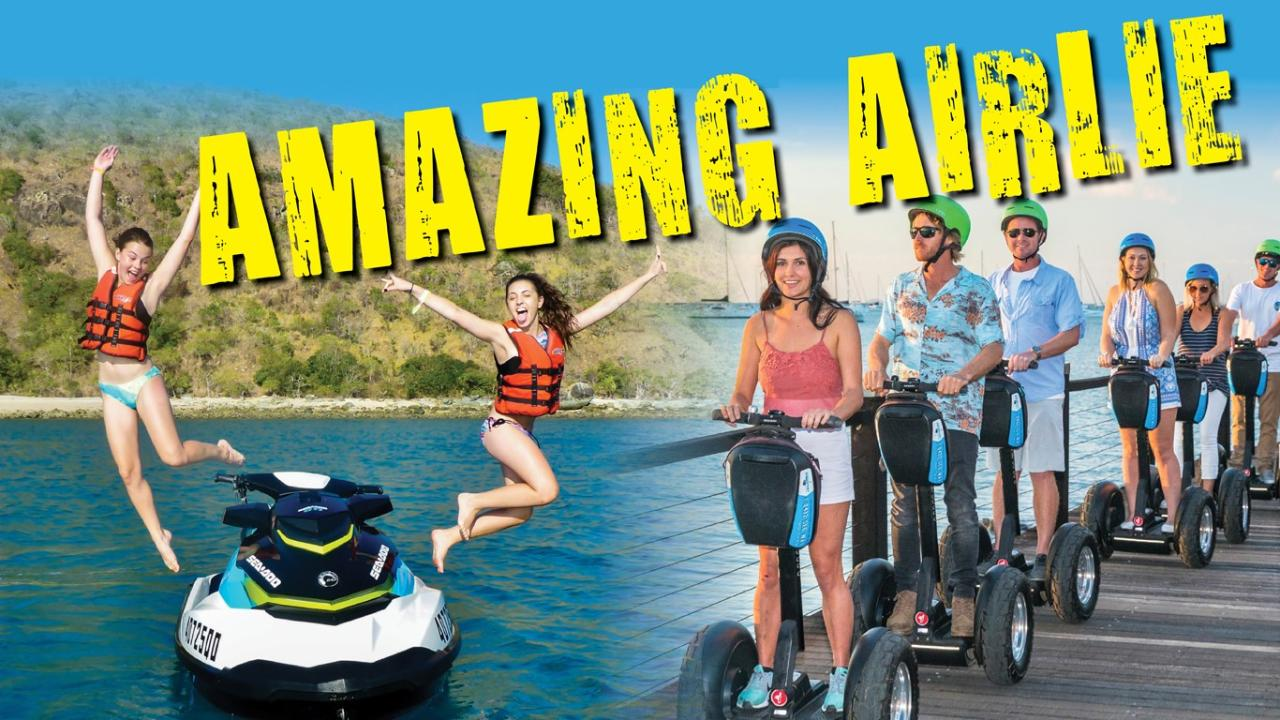 AMAZING AIRLIE - JETSKI AND SEGWAY PACKAGE