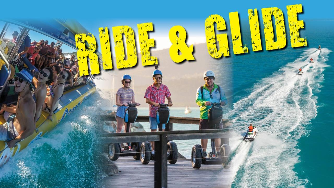 RIDE AND GLIDE – JETSKI, SEGWAY AND OCEAN RAFTING PACKAGE