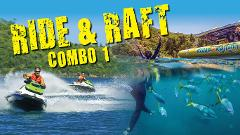 RIDE AND RAFT COMBO 1 - JETSKI AND OCEAN RAFTING PACKAGE