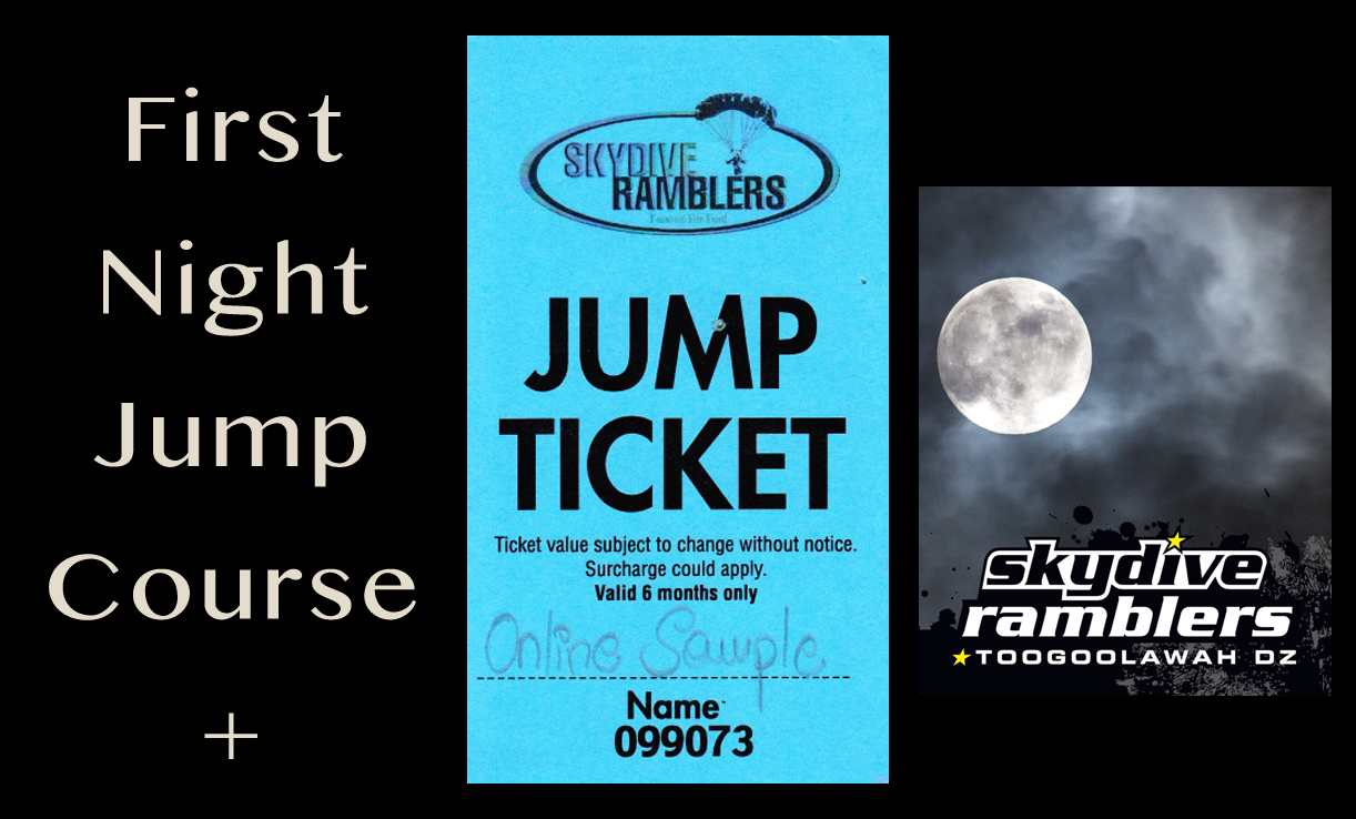 First Night Jump Course + 1 Night Jump Ticket