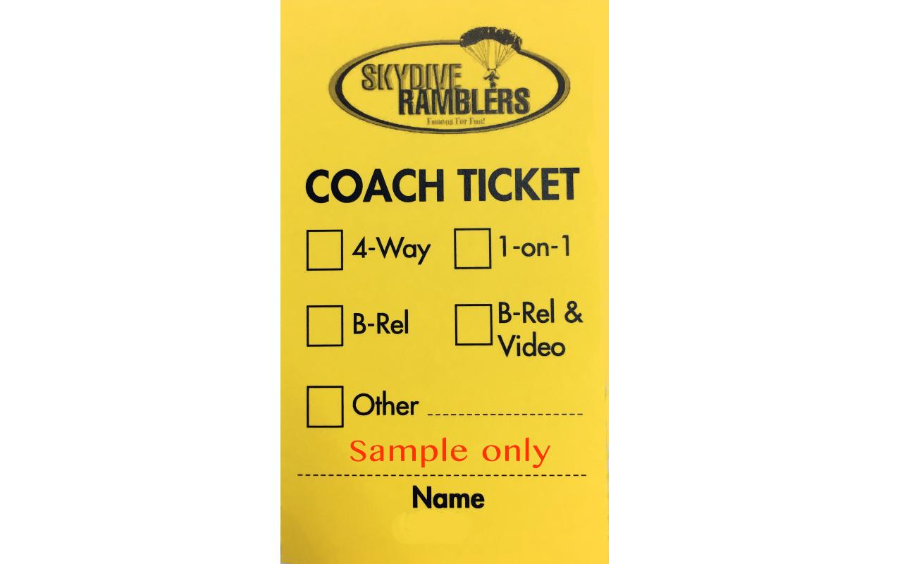Coaching Ticket with Video (14'000 feet)
