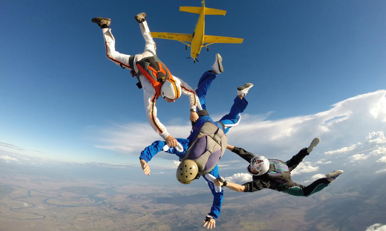Payment for a Learn to Skydive Course