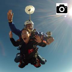 Digital Photos of Tandem Jump (CD) - Handycam