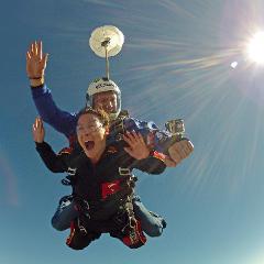 Deposit for Tandem Skydive - 14'000 feet