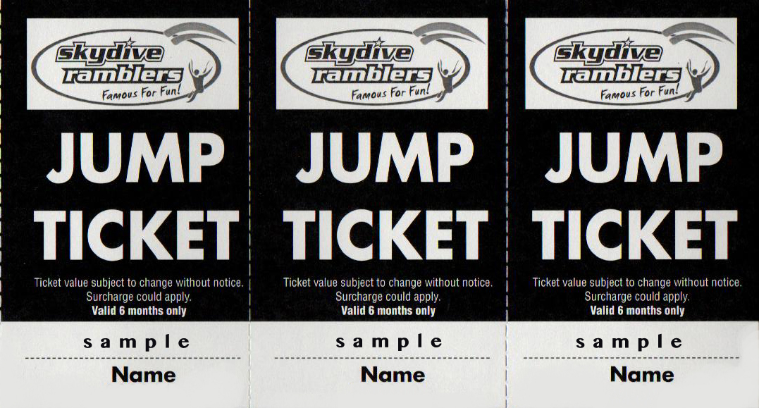 Event Jump Ticket (14'000 feet)