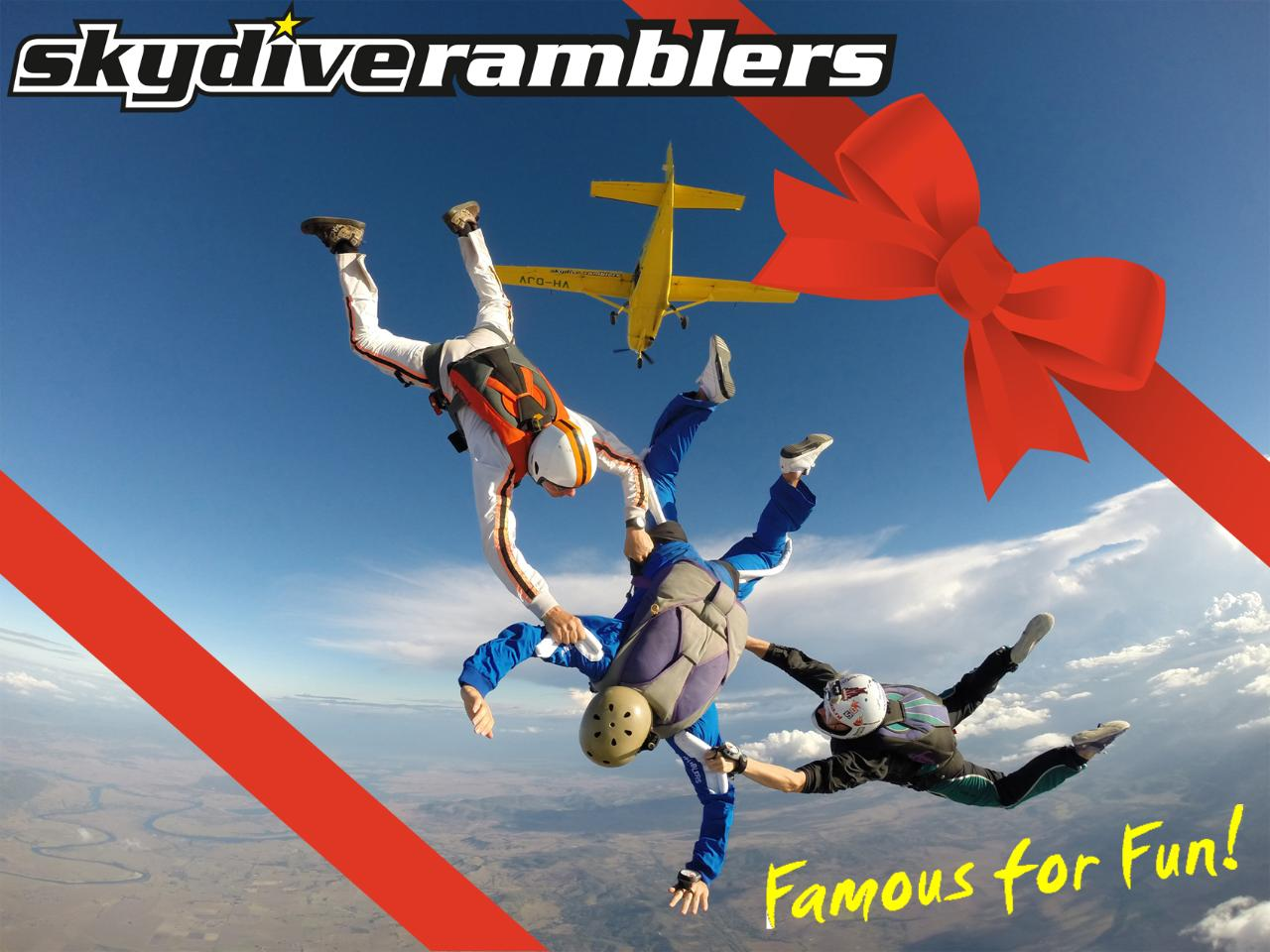 AFF - First Jump Skydiving Course (Stage 1) - Gift Card
