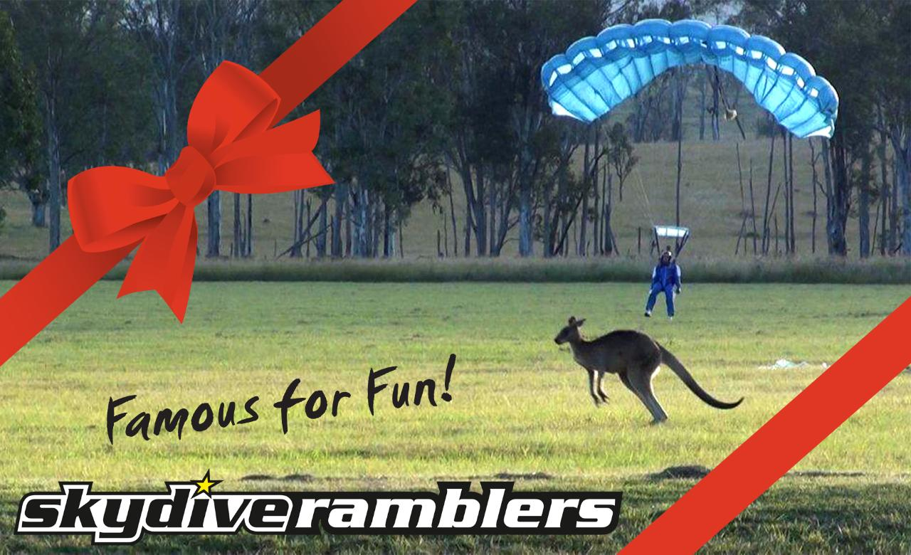 AFF - Completion  Package (10 jumps - full course) - Gift Card