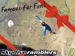 IAD - First 5 jump Freefall package - Gift Card