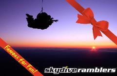 Night Tandem Skydive from 12'000 feet (min. 2 people) - Gift Card