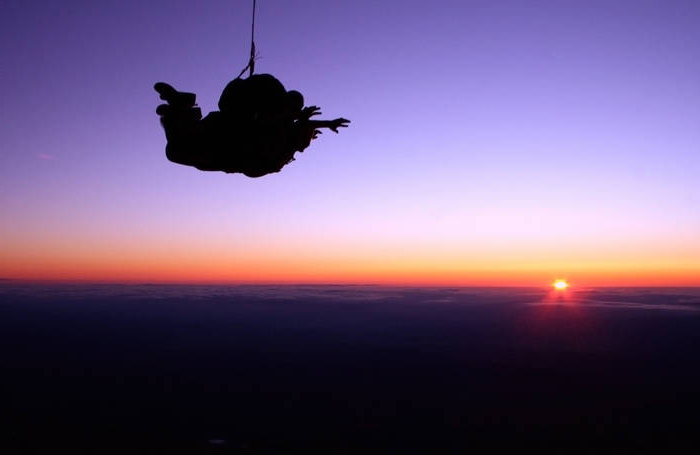 Night Tandem Skydive - 12'000 feet
