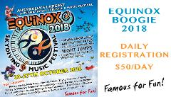 Equinox Boogie - Daily Registration