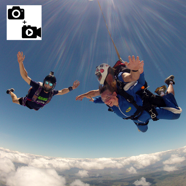 Digital Video & Photos Package of Tandem Jump (USB) - outside flyer